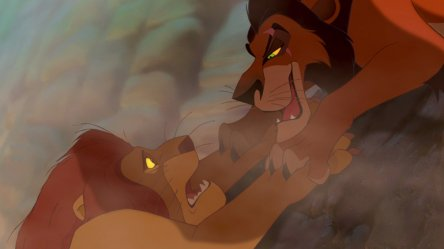 Злой дядя Симбы в «Короле Льве» не был ему родным